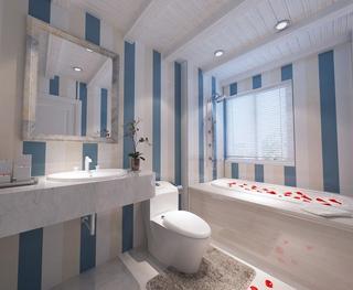 蓝色地中海家居欣赏卫生间