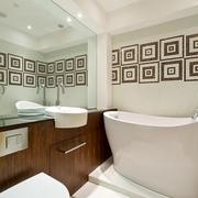 现代简约风格浴室套图欣赏