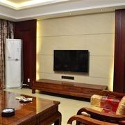 韵味中式住宅欣赏客厅电视柜