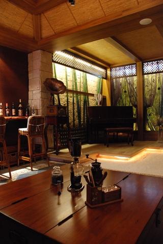 东南亚设计客厅效果图设计