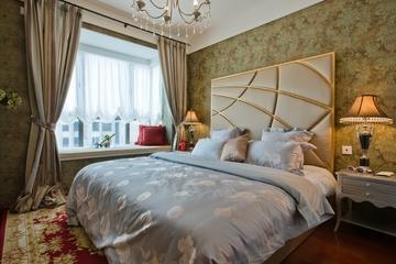 典雅法式装饰住宅欣赏卧室效果