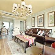 123平美式古典住宅欣赏