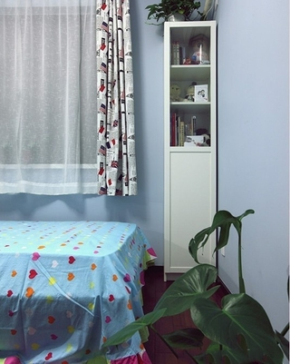 87平简约三居室案例欣赏儿童房陈设