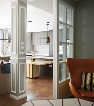 127平怀旧现代住宅欣赏厨房