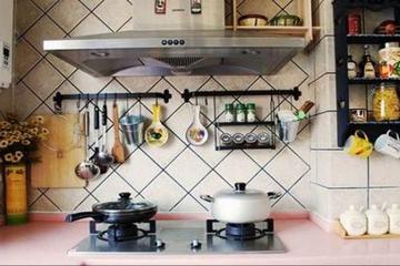 简约温馨小两居住宅欣赏厨房摆件