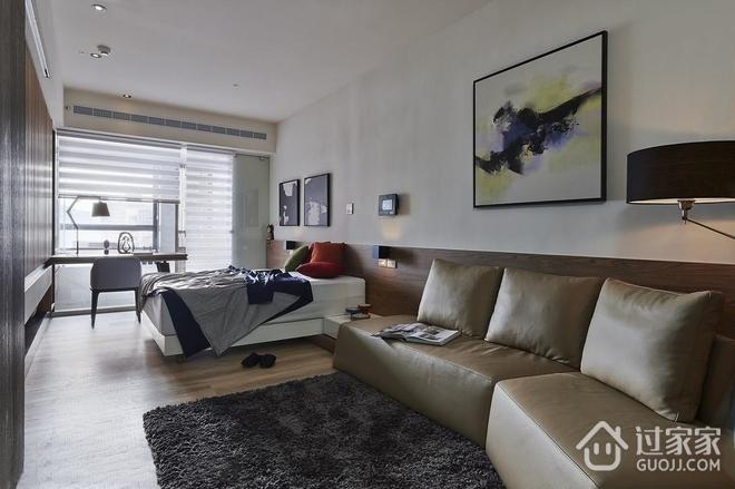 32平现代一居室欣赏