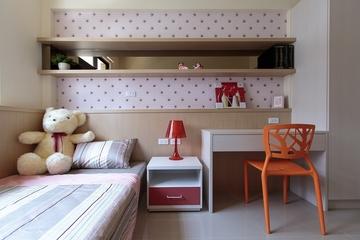 明亮简约三室两厅欣赏儿童房设计