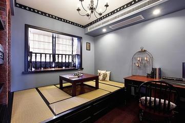 复古混搭公寓欣赏茶室
