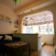 北欧风格设计效果图客厅图片欣赏