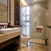 东南亚别墅卫生间台面