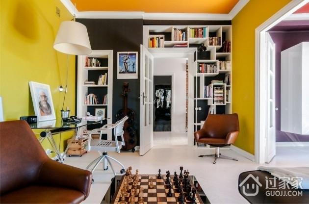 橙色活力一居室欣赏客厅