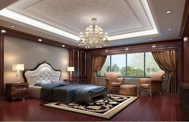 150平欧式大宅设计欣赏卧室灯饰