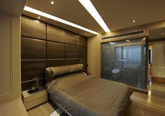欧式奢华大宅设计欣赏卧室局部