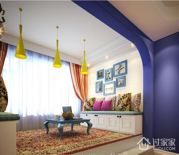 多彩绚丽阳台飘窗设计 魅力的家居生活