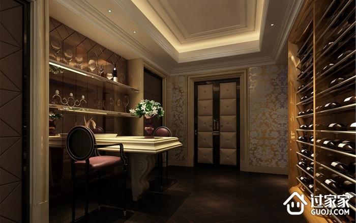 120平欧式风格三居欣赏酒室
