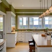 欧式家装效果图开放厨房