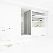 36平极简主义设计欣赏客厅