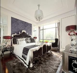 简欧洋气三居室欣赏卧室吊顶
