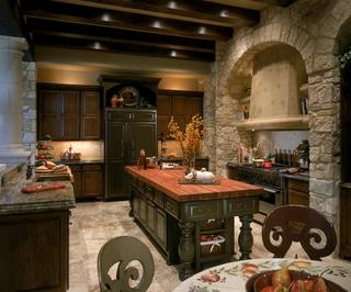欧式装饰效果图欣赏厨房