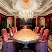 新古典别墅效果图宴会厅