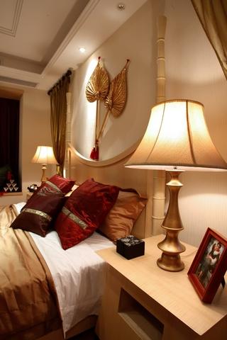 118平东南亚风格住宅欣赏卧室设计