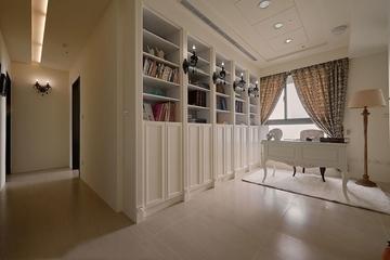 客厅书柜装修效果图 优雅大气