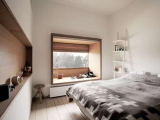 日式原木复式楼欣赏卧室