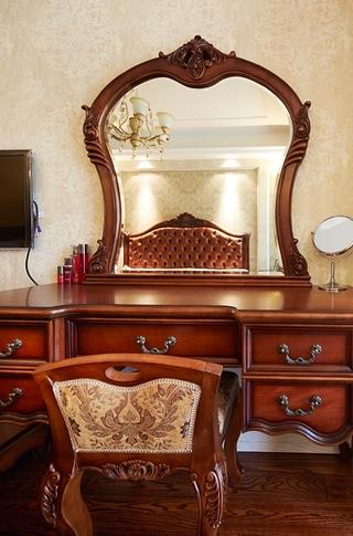 120平美式四室两厅住宅欣赏卧室局部