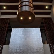 现代别墅设计效果陈设柱