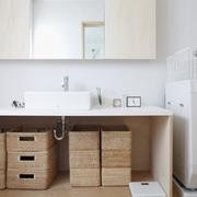 86平日式风格复式楼欣赏洗手间设计