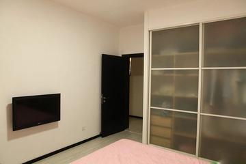 95平两室简约住宅欣赏卧室局部