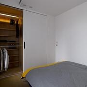 现代风格小户型效果图卧室效果