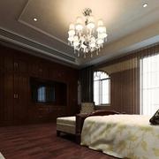118平新古典三居室欣赏卧室吊顶