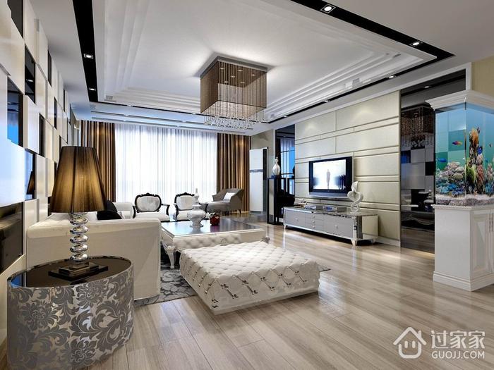 115平现代三居室案例欣赏