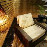 简约暖色空间效果图欣赏卧室灯饰