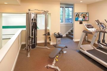 简欧别墅设计套图健身室