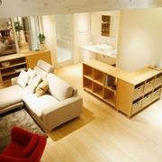 清新MIUI复式楼欣赏客厅局部