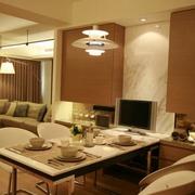83平日式风格住宅欣赏餐厅