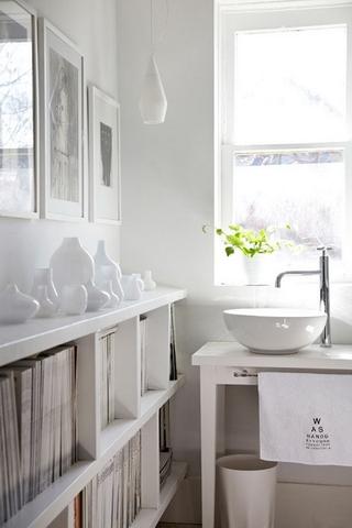 内饰丰富现代住宅欣赏洗手间