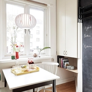 66平米色暖心公寓欣赏餐厅