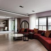 简约白色原味空间设计客厅