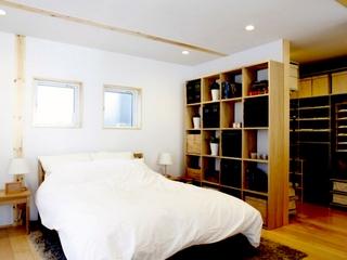 日式复式时尚住宅欣赏卧室效果
