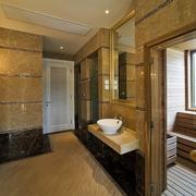 新古典别墅大理石洗手台