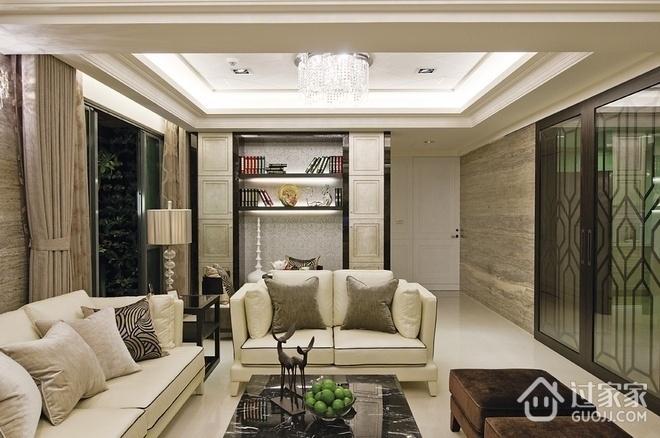 97平新古典风格住宅欣赏