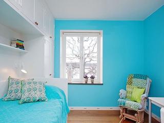 白色宜家优雅风情欣赏儿童房