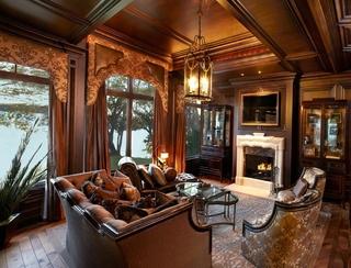 法式住宅套图欣赏客厅效果