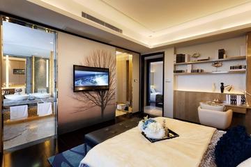 130平新古典时尚大宅欣赏卧室吊顶