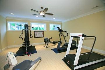 美式风格设计套图健身室