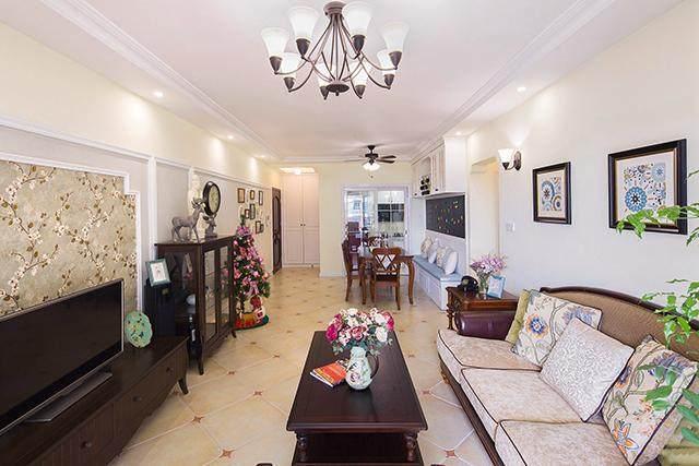 95㎡改成3房2厅,玄关储物柜入墙设计,见过的人都点赞!