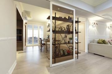 白色淡雅127平住宅欣赏餐厅设计